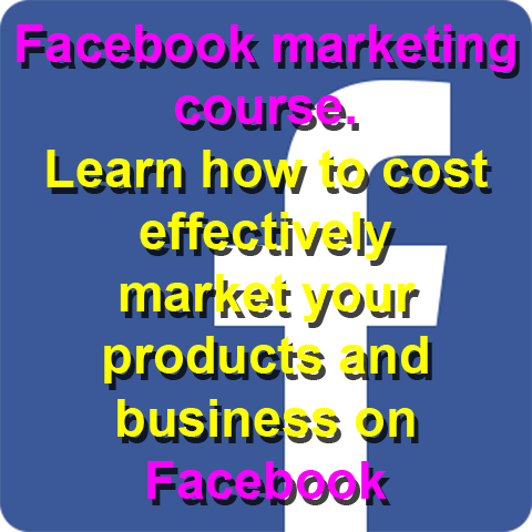 This 4 part course will take you through how to market your products or business cost effectively on Facebook.